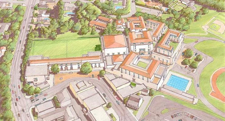 Brentwood School East and West Campus Master Plans Designed by Johnson Favaro
