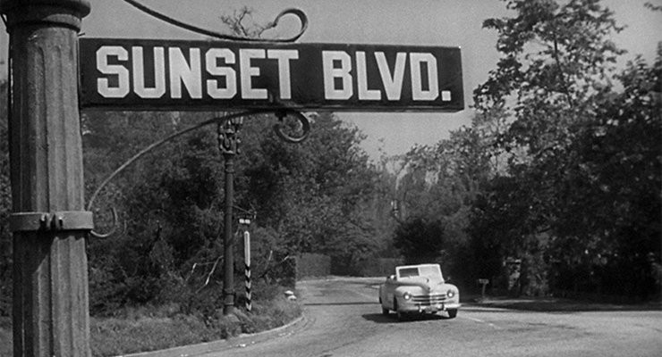 Traffic was a little lighter when Billy Wilder made Sunset Boulevard
