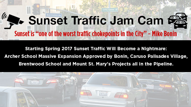 Announcing the Sunset Traffic Jam Cam